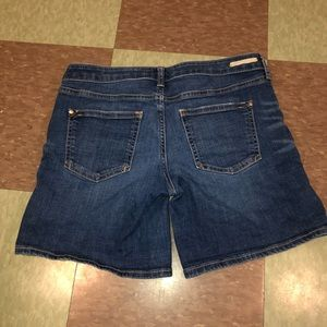 Anthropologie Shorts - Anthro pilcro letterpresss denim jean shorts 26